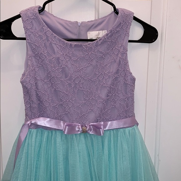 Rare Editions Other - Little Mermaid inspired dress size 12